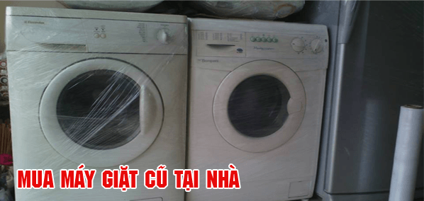 Nhận mua máy giặt cũ hỏng tại hải dương